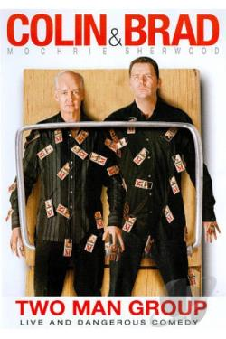 Colin Mochrie and Brad Sherwood: Two Man Group DVD Cover Art