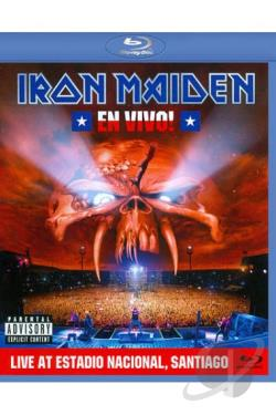 Iron Maiden: En Vivo! - Live at Estadio Nacional, Santiago BRAY Cover Art