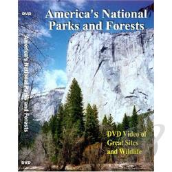 America's National Parks and Forests DVD Cover Art