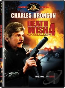 Death Wish 4: The Crackdown DVD Cover Art