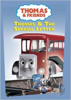 Thomas & Friends - Thomas & the Special Letter DVD Cover Art