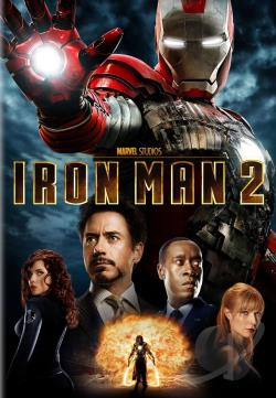 Iron Man 2 DVD Cover Art