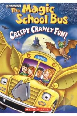 Magic School Bus, The - Creepy, Crawly Fun DVD Cover Art