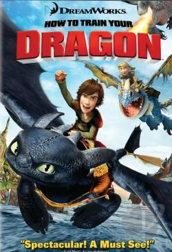 How to Train Your Dragon DVD Cover Art