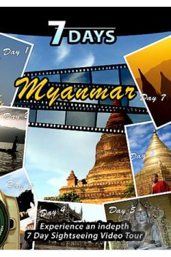 7 Days - Myanmar / Burma DVD Cover Art