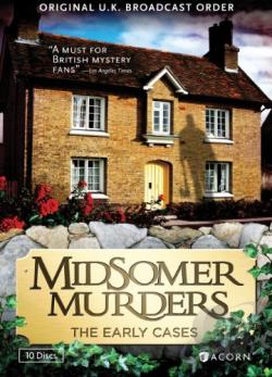 Midsomer Murders - The Early Cases DVD Cover Art