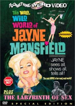 Jayne Mansfield - Wide Wide World Of/Labyrinth Of Sex DVD Cover Art
