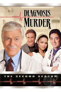 Diagnosis Murder - The Complete Second Season DVD Cover Art