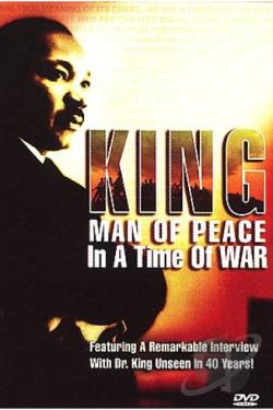 Dr. Martin Luther King Jr. - Man Of Peace In A Time of War DVD Cover Art