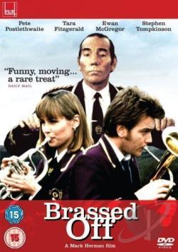 Brassed Off DVD Cover Art