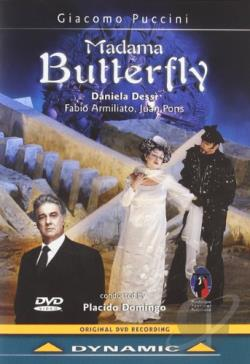 Giacomo Puccini - Madama Butterfly DVD Cover Art