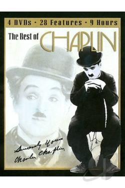 Best Of Chaplin - 28 Features DVD Cover Art