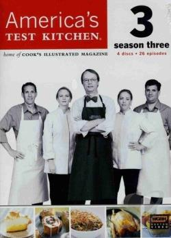 America's Test Kitchen - Season 3 DVD Cover Art