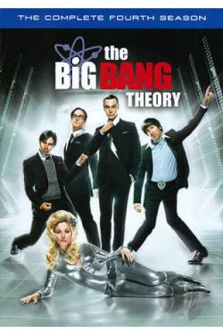 Big Bang Theory - The Complete Fourth Season DVD Cover Art