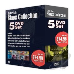 Guitar Lab Blues Collection DVD Cover Art