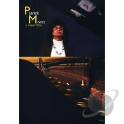 Patrick Moraz - Live in Princeton DVD Cover Art