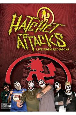 Hatchet Attacks - Live At Red Rocks DVD Cover Art