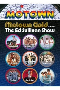 Ed Sullivan's Rock 'n' Roll Classics: Motown Gold on The Ed Sullivan Show DVD Cover Art