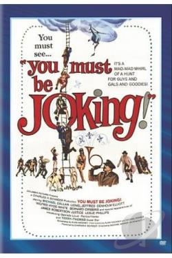 You Must Be Joking! DVD Cover Art