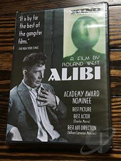 Alibi DVD Cover Art