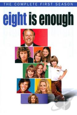 Eight Is Enough - The Complete First Season DVD Cover Art