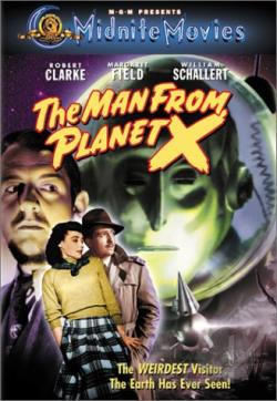 Man From Planet X DVD Cover Art