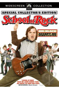 School of Rock DVD Cover Art