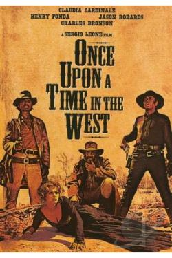 Once Upon a Time in the West DVD Cover Art