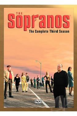 Sopranos - The Complete Third Season DVD Cover Art