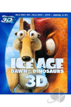 Ice Age: Dawn of the Dinosaurs BRAY Cover Art