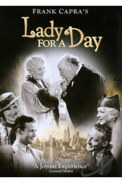 Lady for a Day DVD Cover Art