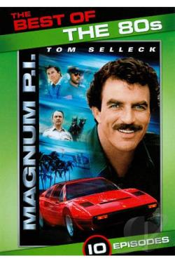 Best of the 80s: Magnum, P.I. DVD Cover Art