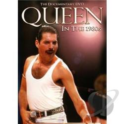 Queen: In the 1980's DVD Cover Art