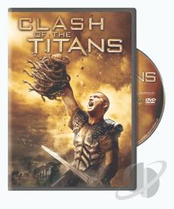 Clash of the Titans DVD Cover Art
