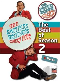 Smothers Brothers Comedy Hour: The Best of Season 2 DVD Cover Art