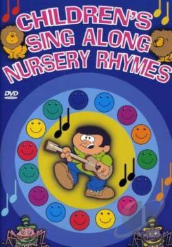 Children's Sing A Long Nursery Rhymes DVD Cover Art