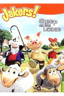 Jakers - Sheep On The Loose DVD Cover Art