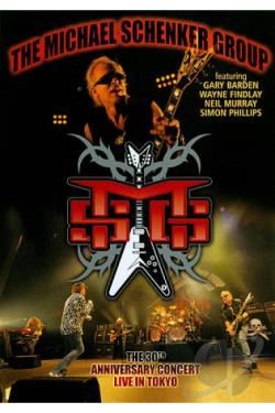 Michael Schenker Group: Live in Tokyo - 30th Anniversary Tour DVD Cover Art