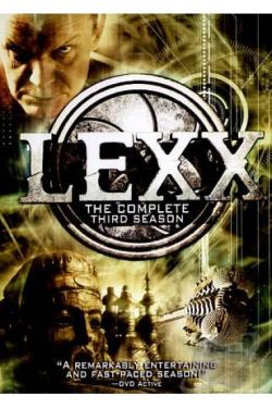 Lexx - The Complete Third Series DVD Cover Art