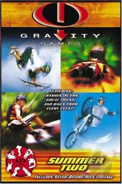 Gravity Games: Summer Two DVD Cover Art