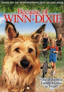Because of Winn-Dixie DVD Cover Art