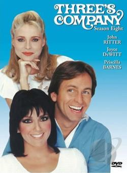 Three's Company - Season 8: The Final Season DVD Cover Art