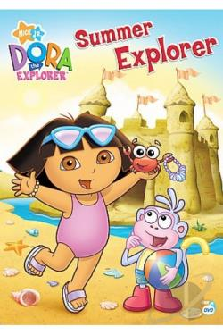 Dora the Explorer - Summer Explorer DVD Cover Art