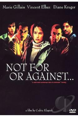 Not For or Against DVD Cover Art