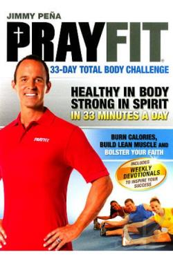 Jimmy Pena: Prayfit - 33-Day Total Body Challenge DVD Cover Art