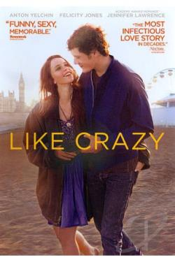 Like Crazy DVD Cover Art