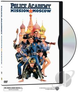 Police Academy 7 - Mission To Moscow DVD Cover Art