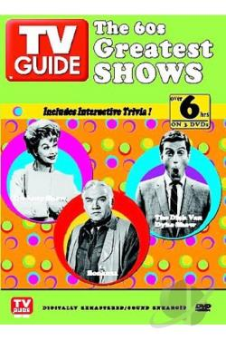 TV Guide Presents - The 60'S Greatest Shows DVD Cover Art