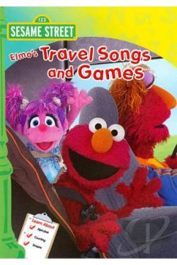 Sesame Street: Elmo's Travel Songs and Games DVD Cover Art