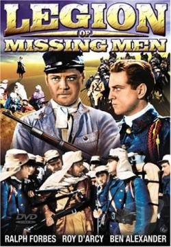 Legion of Missing Men DVD Cover Art
